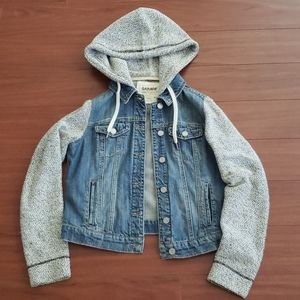 Jean Jacket with Hood